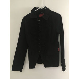 Tripp NYC Gothic Military Jacket